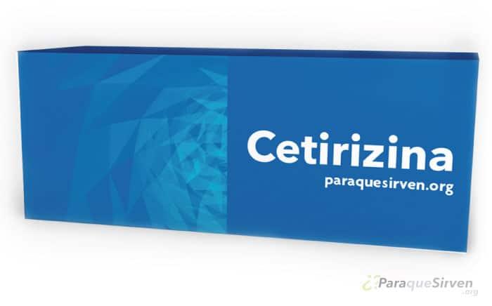 Muestra médica de Cetirizina