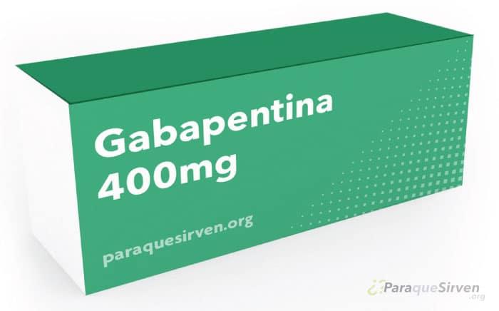 Medicamento Gabapentina 400mg