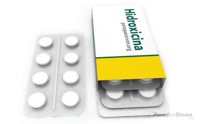 Muestra médica de Hidroxicina