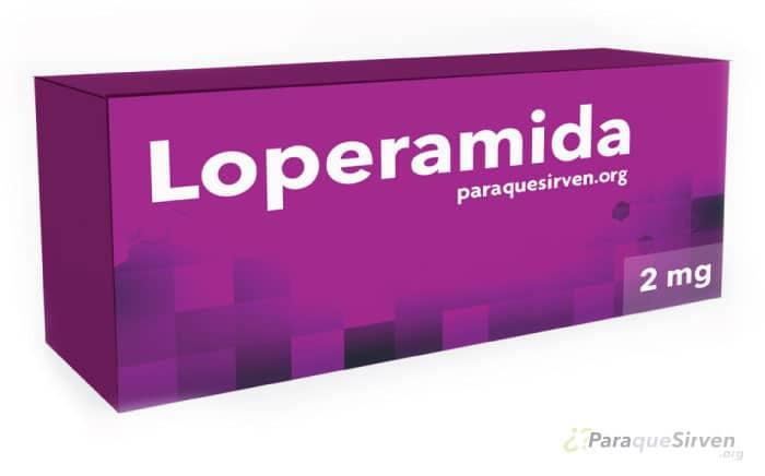 Muestra médica de Loperamida 2mg