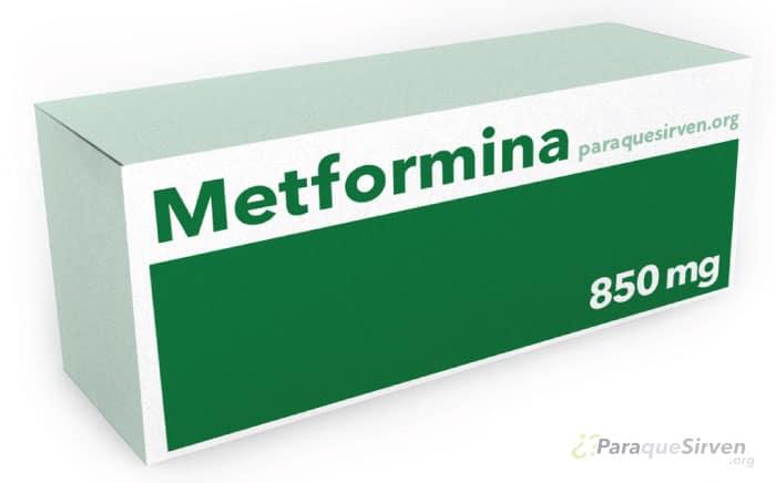 Caja de Metformina