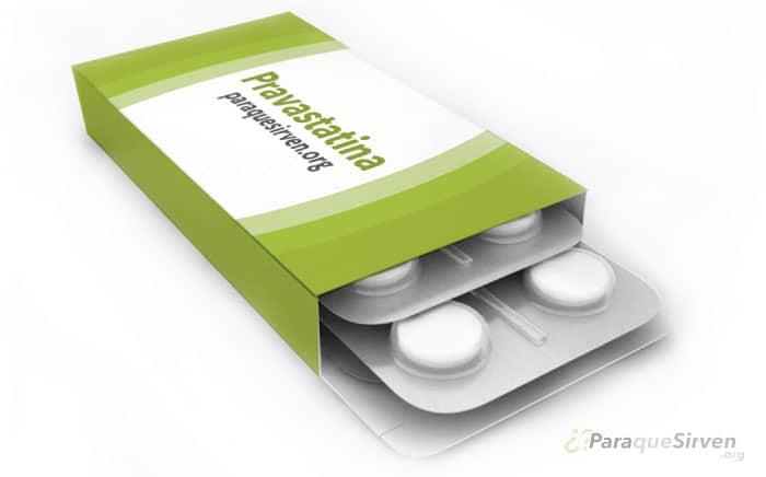 Muestra médica de Pravastatina