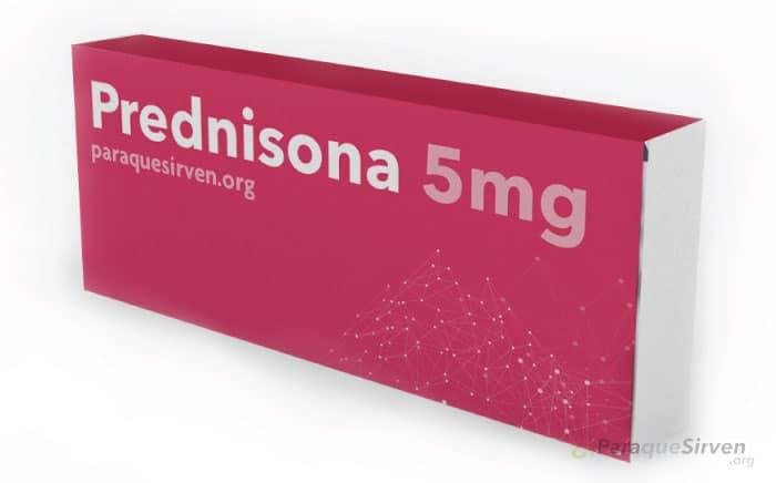 Prednisona 5mg muestra médica
