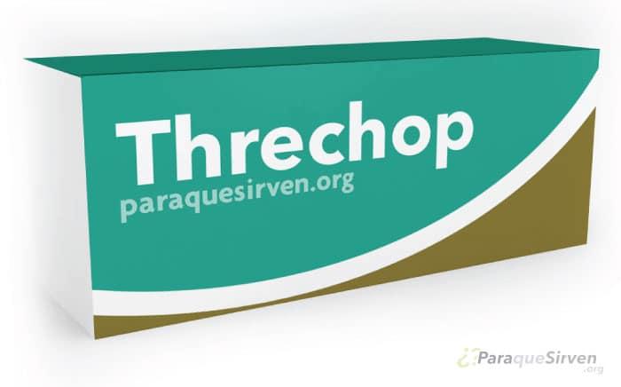 Medicamento Threchop para la diarrea