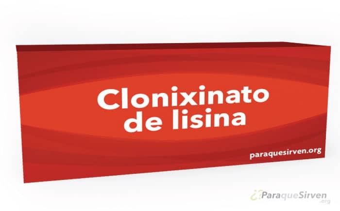 Medicamento de clonixinato de lisina