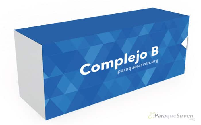 Vitaminas en forma de complejo B